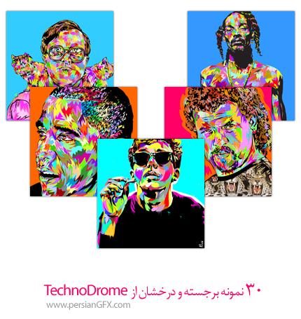30 تصویر جذاب و درخشان از TechnoDrome