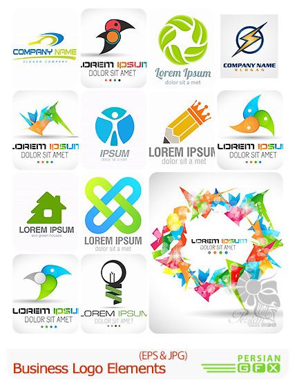 دانلود تصاویر وکتور آرم و لوگوی تجاری - Business Logo Elements