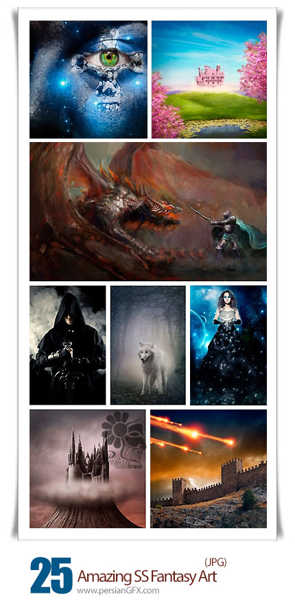 دانلود تصاویر هنری فانتزی از شاتراستوک - Amazing ShutterStock Fantasy Art