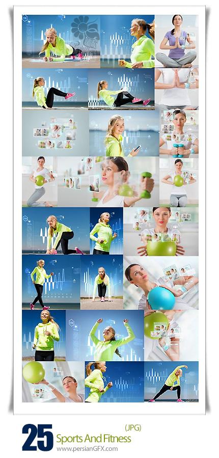 دانلود تصاویر با کیفیت ورزش و بدنسازی بانوان - Sports And Fitness
