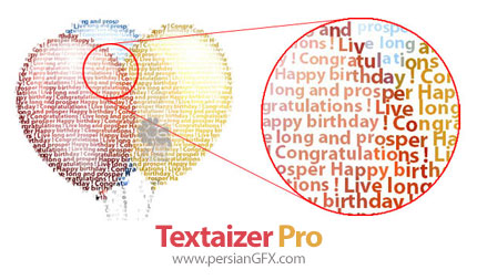 دانلود نرم افزار ساخت تصاویر متنی از عکس - Textaizer Pro v5.0 build 74