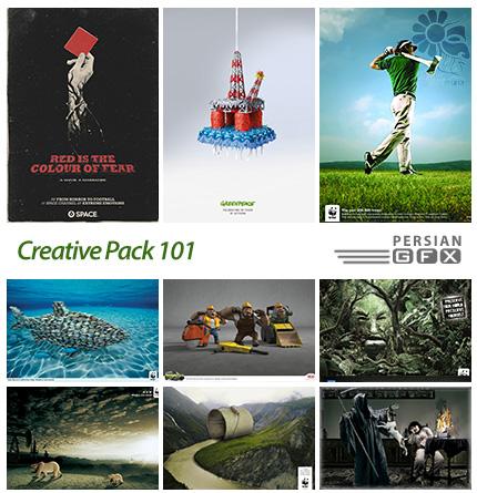 دانلود تصاویر تبلیغاتی متنوع - 101 Creative Pack