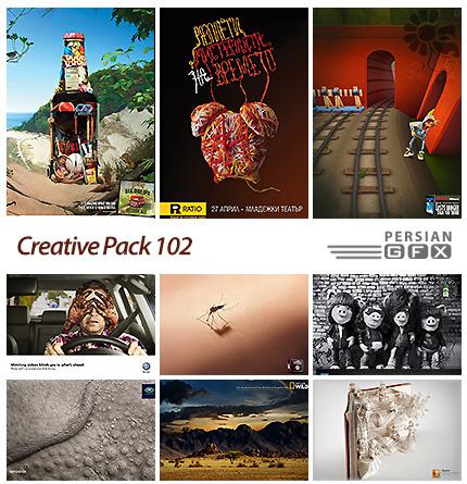 دانلود تصاویر تبلیغاتی متنوع - 102 Creative Pack