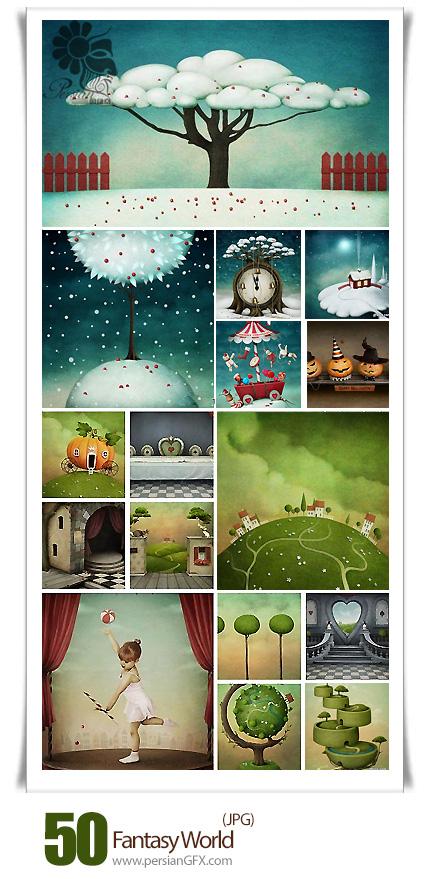 دانلود تصاویر با کیفیت هنری دنیای فانتزی - Fantasy World