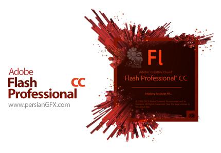 دانلود نرم افزار ادوبی فلش سی سی - Adobe Flash Professional CC 2014 14.0.0.110 x64