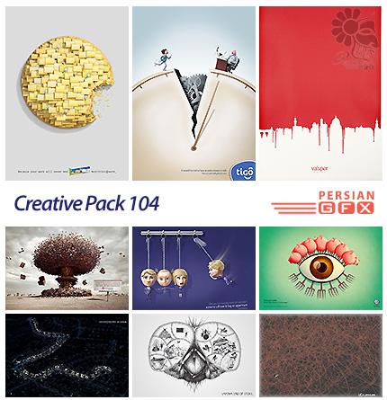 دانلود تصاویر تبلیغاتی متنوع - 104 Creative Pack