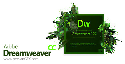 دانلود نرم افزار ادوبی دریم ویور سی سی - Adobe Dreamweaver CC 2014 14.0 Build 6733 x86/x64