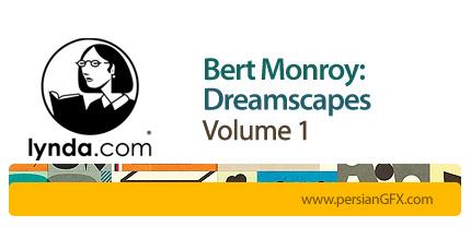دانلود آموزش ساخت چشم انداز های رویایی در فتوشاپ از لیندا-بخش اول - Lynda Bert Monroy: Dreamscapes Volume 1
