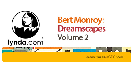 دانلود آموزش ساخت چشم انداز های رویایی در فتوشاپ از لیندا-بخش دوم - Lynda Bert Monroy: Dreamscapes Volume 2