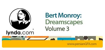 دانلود آموزش ساخت چشم انداز های رویایی در فتوشاپ از لیندا-بخش سوم - Lynda Bert Monroy: Dreamscapes Volume 3