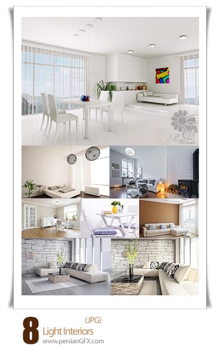 دانلود تصاویر با کیفیت دکوراسیون روشن و نورانی - Light Interiors