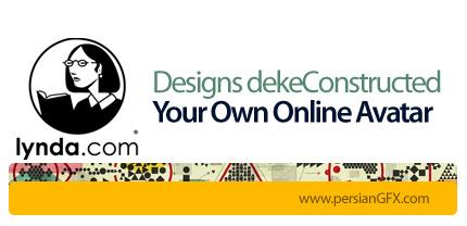 دانلود آموزش طراحی آواتار چهره در ایلاستریتر از لیندا - Lynda Designs dekeConstructed: Your Own Online Avatar