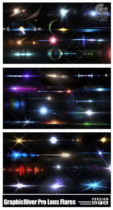 Throw Pillows Vs Lens Flare : Graphicriver 50 pro lens flares pack v1