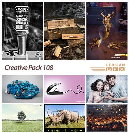 دانلود تصاویر تبلیغاتی متنوع - 108 Creative Pack