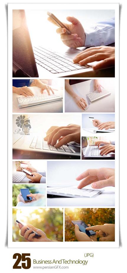 دانلود تصاویر با کیفیت تجارت و تکنولوژی - Business And Technology
