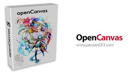 دانلود نرم افزار طراحی و نقاشی تصاویر - OpenCanvas v6.2.11 x86/x64
