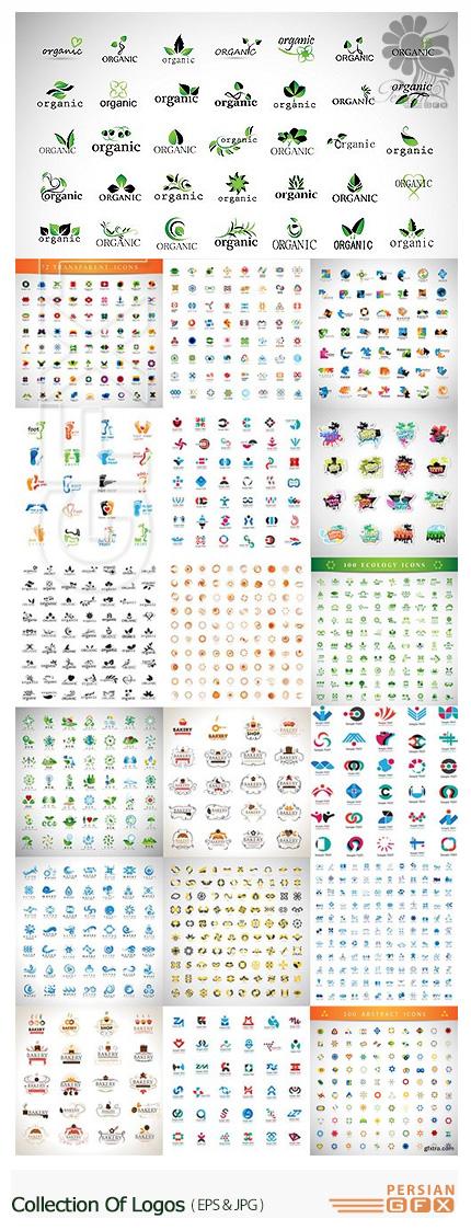 دانلود تصاویر وکتور آرم و لوگوهای فانتزی - Collection Of Logos