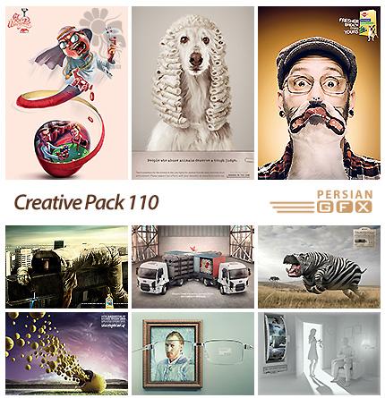 دانلود تصاویر تبلیغاتی متنوع - 110 Creative Pack