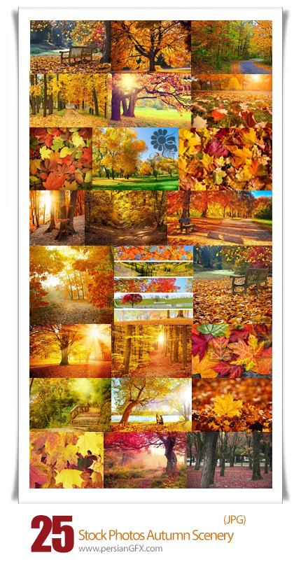 دانلود تصاویر با کیفیت مناظر پاییزی - Stock Photos Autumn scenery