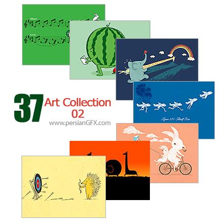 دانلود مجموعه تصاویر هنری دستکاری شده - Art Collection 02