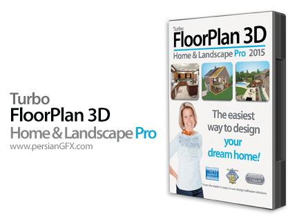 دانلود نرم افزار طراحی نمای خارجی و داخلی خانه - IMSI TurboFloorPlan 3D Home & Landscape Pro 2015 17.5.5.1001