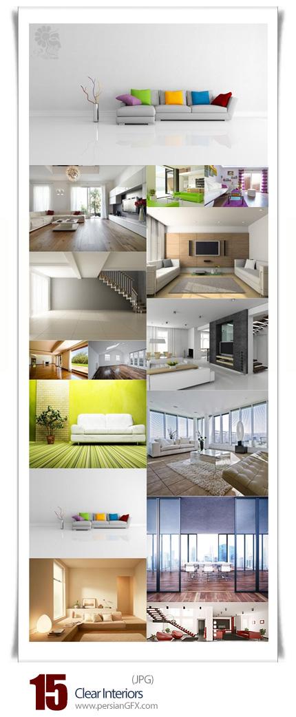 دانلود تصاویر با کیفیت طراحی داخلی خانه - Clear Interiors