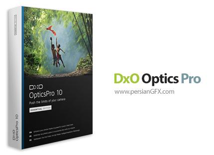 دانلود نرم افزار افزایش کیفیت تصاویر دوربین عکاسی - DxO Optics Pro v10.0.0 Build 821 Elite x64 + v9.1.5 Build 1919 Elite x86/x64