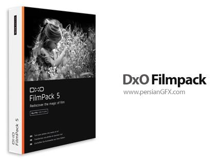 دانلود نرم افزار تبدیل تصاویر و فیلم های قدیمی به دیجیتال - DxO Filmpack v5.5.21 Build 591 x64 Elite