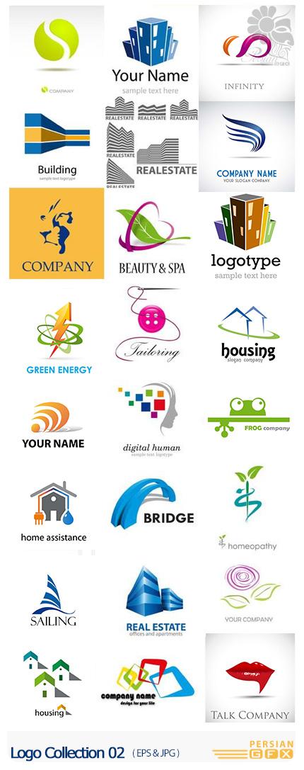 دانلود تصاویر وکتور آرم و لوگوهای فانتزی - Logo Collection 02