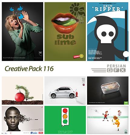 دانلود تصاویر تبلیغاتی متنوع - 116 Creative Pack