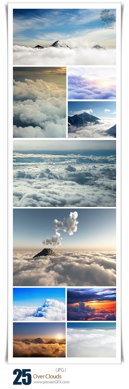 دانلود تصاویر با کیفیت فراتر از ابرها، آسمان - Over Clouds ...