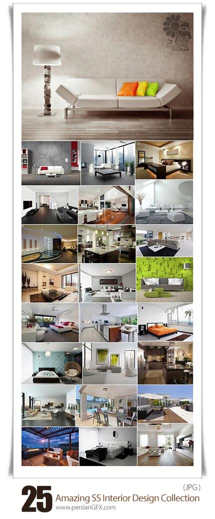 دانلود تصاویر با کیفیت طراحی داخلی خانه از شاتراستوک - Amazing ShutterStock Interior Design Collection