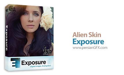 دانلود پلاگین فتوشاپ برای افکت گذاری بر روی عکس - Alien Skin Exposure 7.0.1.83 Revision 26871 x86/x64