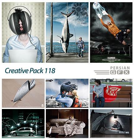 دانلود تصاویر تبلیغاتی متنوع - 118 Creative Pack