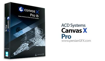 دانلود نرم افزار تصویر سازی تکنیکی - ACD Systems Canvas X Pro 16.2062 x64