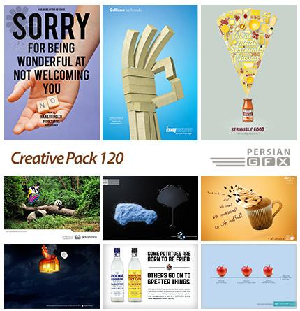 دانلود تصاویر تبلیغاتی متنوع - 120 Creative Pack