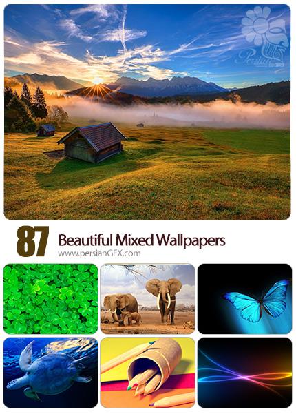 دانلود والپیپرهای زیبا و متنوع - Beautiful Mixed Wallpapers