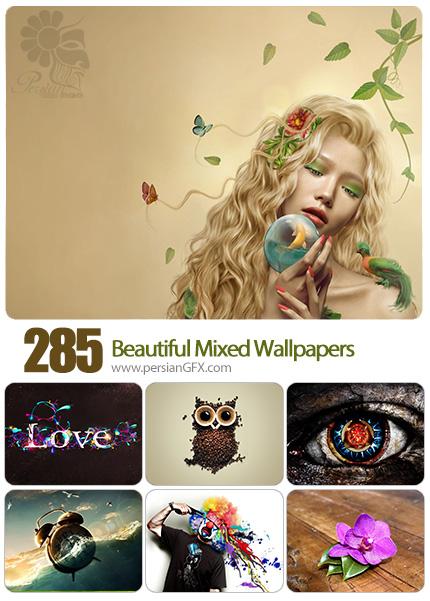 دانلود والپیپرهای متنوع فانتزی - Collection Of Different Wallpapers Set