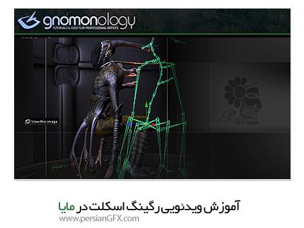 دانلود آموزش رگینگ اسکلت در مایا - The Gnomon Workshop Rigging 101 Skeletons