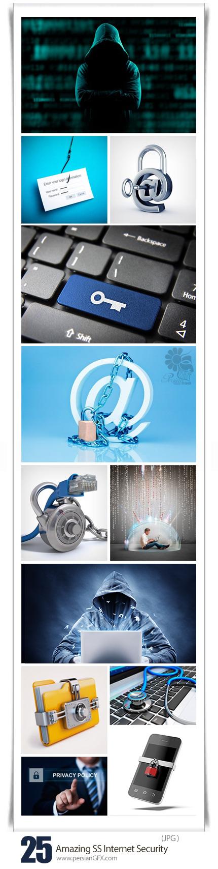 دانلود تصاویر با کیفیت قفل های امنیتی اینترنت از شاتراستوک - Amazing ShutterStock Internet Security
