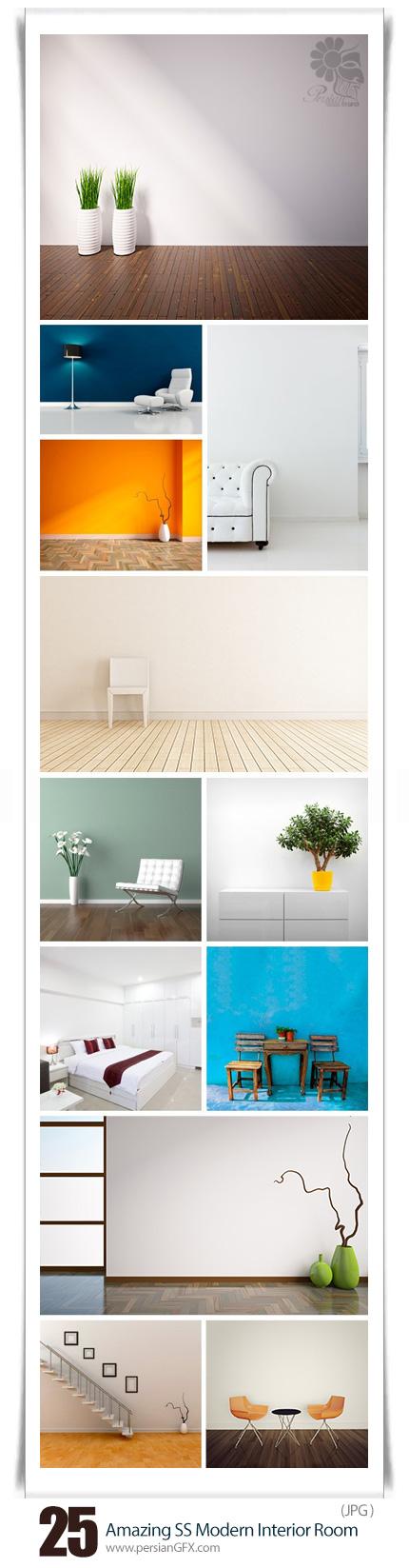 دانلود تصاویر با کیفیت طراحی داخلی مدرن از شاتراستوک - Amazing ShutterStock Modern Interior Room