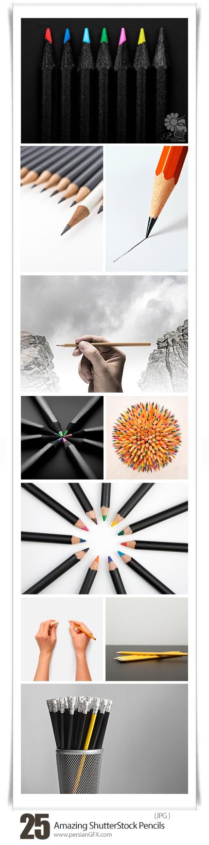 دانلود تصاویر با کیفیت مداد، مداد رنگی از شاتر استوک - Amazing ShutterStock Pencils