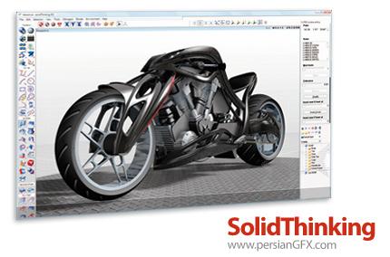 دانلود solidThinking Design (Inspire + Evolve) 2014 Build 3969 x86/x64 - نرم افزار تخصصی رشته مهندسی مکانیک - ساخت و تولید