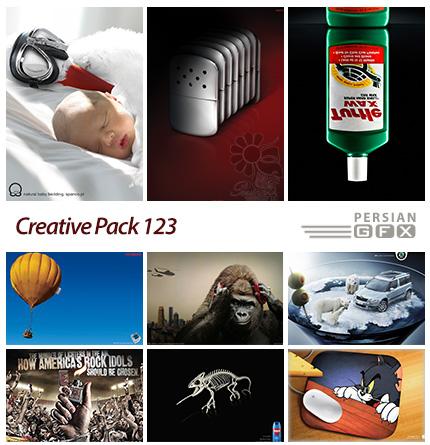 دانلود تصاویر تبلیغاتی متنوع - 123 Creative Pack