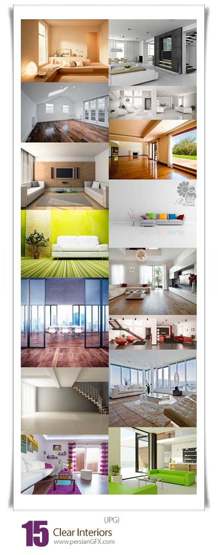 دانلود تصاویر با کیفیت طراحی داخلی مدرن - Clear Interiors