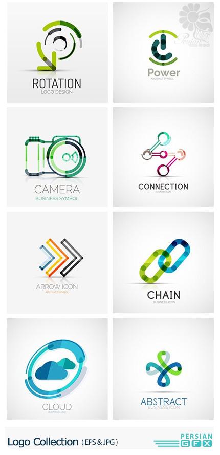 دانلود تصاویر وکتور آرم و لوگوی فانتزی - Logo Collection