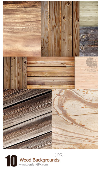 دانلود تصاویر پس زمینه تکسچر چوبی - Wood Backgrounds