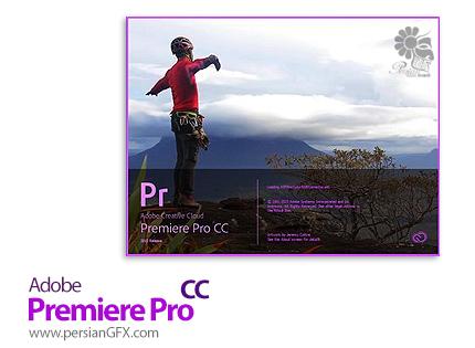 دانلود نرم افزار ادوبی پریمایر سی سی - Adobe Premiere Pro CC 2015 v10.4 x64