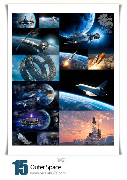 دانلود تصاویر با کیفیت فضا، خارج از کره زمین، سیاره، ماهواره - Outer Space