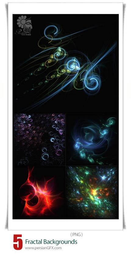 دانلود تصاویر با کیفیت پس زمینه اشکال فراکتال - Fractal Backgrounds